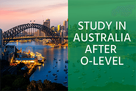 Study in Australia after o level