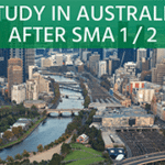 Study in Australia after SMA 1 or 2